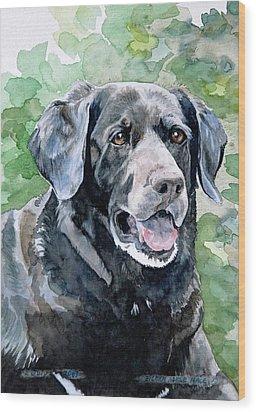 Starr Wood Print by Eileen Hale