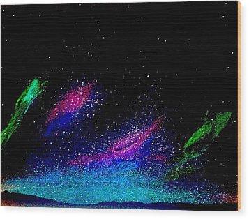Starry Night 2 Wood Print