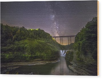 Starry Sky At Letchworth Wood Print