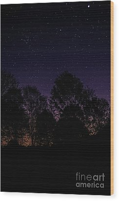 Wood Print featuring the photograph Stars by Brian Jones