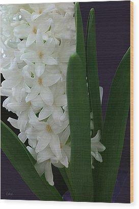 Stars Of Spring Wood Print by Debra     Vatalaro