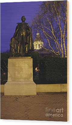 State Capitol Building - Concord New Hampshire Usa Wood Print by Erin Paul Donovan