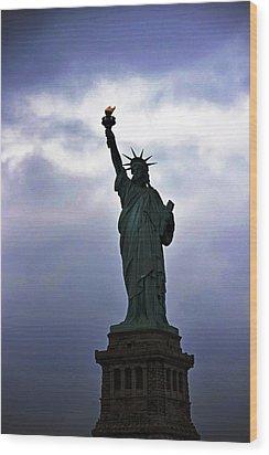 Statue Of Liberty May 2016 Wood Print
