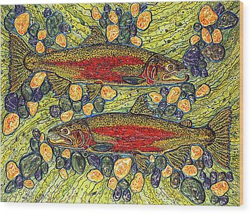Stealhead Trout Wood Print