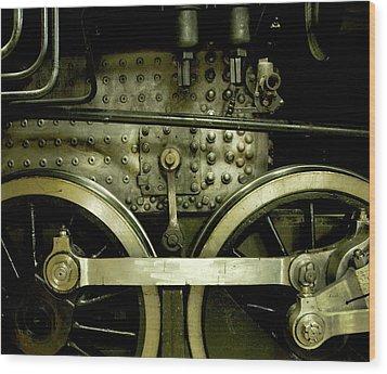 Steam Power I Wood Print by Theresa Tahara
