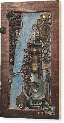 Steampunk 1 Wood Print