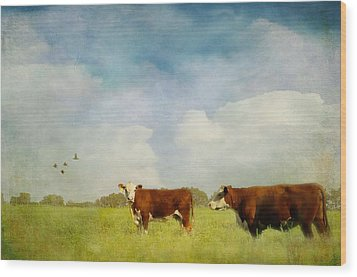 Wood Print featuring the photograph Steamy Hot Summer Days by Jan Amiss Photography