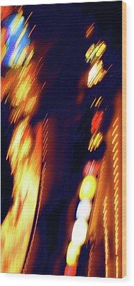 Stellar Wood Print by Tj Evans