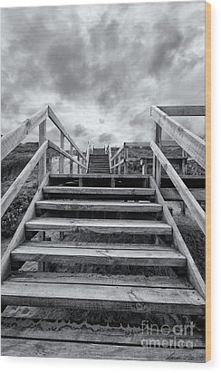 Wood Print featuring the photograph Step On Up by Linda Lees