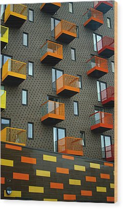 Stepped Living Wood Print by Jez C Self