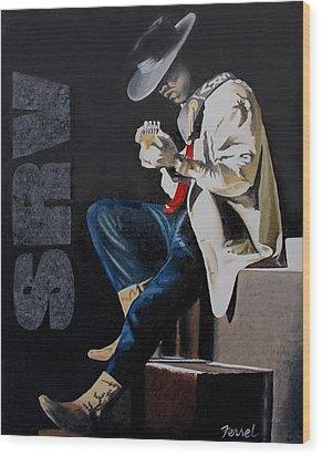 Stevie Wood Print by Ferrel Cordle