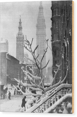 Stieglitz: New York, C1914 Wood Print by Granger