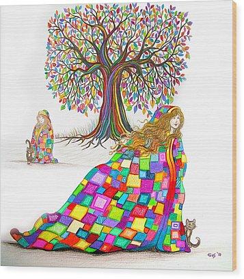 Still Dreaming Wood Print by Nick Gustafson