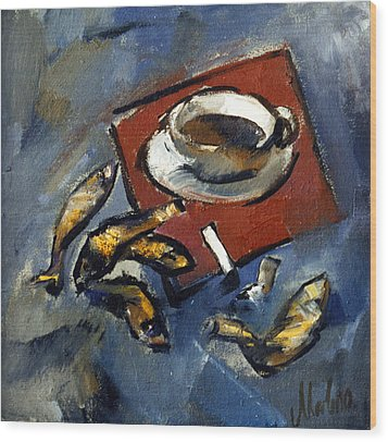 Still Life 2 Wood Print by Valeriy Mavlo