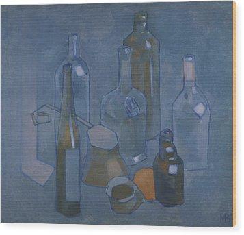 Still Life 5 Wood Print by Valeriy Mavlo