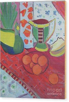 Still Life After Matisse Wood Print