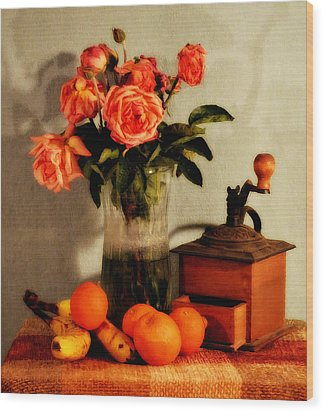 Wood Print featuring the photograph Still Life - Aging by Glenn McCarthy Art and Photography