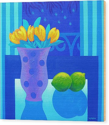 Still Life At Window IIi Wood Print by John  Nolan