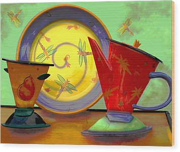Still Life One Wood Print by Jeff Burgess