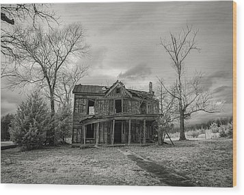 Still Standing Wood Print by Paul Seymour