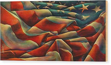 Still There Wood Print by Michael Lang