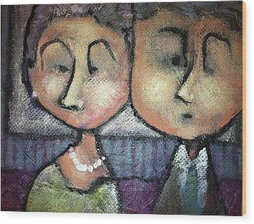 Still Together Wood Print