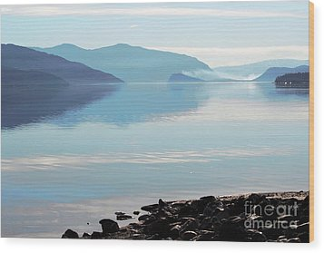 Wood Print featuring the photograph Still by Victor K