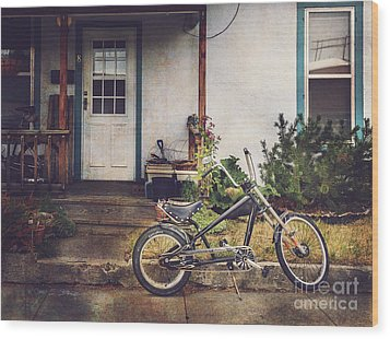Sting Ray Bicycle Wood Print