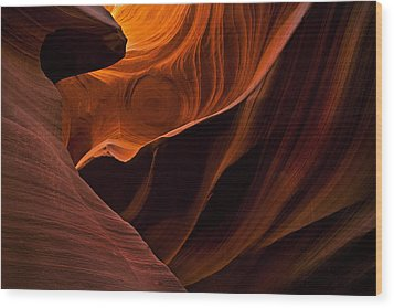 Stone Shadows Wood Print by Mike  Dawson