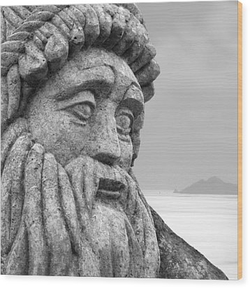 Stoned In Ireland Wood Print by Mike McGlothlen