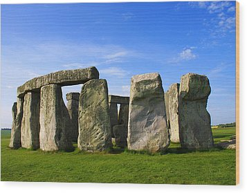 Stonehenge No 1 Wood Print by Kamil Swiatek