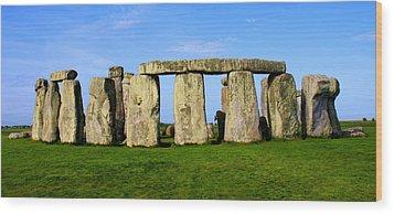 Stonehenge No 2 Wood Print by Kamil Swiatek