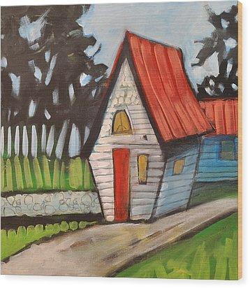 Stonewall Cottage Wood Print by Tim Nyberg