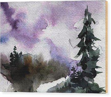Stoney Creek Wood Print by Anne Duke