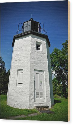 Stony Point Lighthouse Wood Print