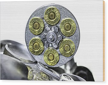 Wood Print featuring the photograph Stopping Power by JC Findley