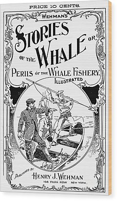 Stories Of The Whale Wood Print by Granger