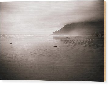 Wood Print featuring the photograph Storm Beach by Craig Perry-Ollila