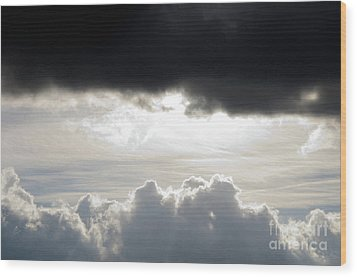 Storm Clouds 3 Wood Print by Andee Design