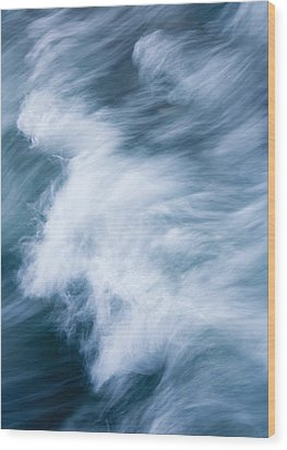 Storm Driven Wood Print by Mike  Dawson