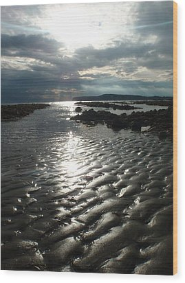 Wood Print featuring the photograph Storm Light by Mira Cooke
