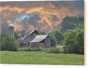 Storm's Coming I Wood Print by Jan Amiss Photography