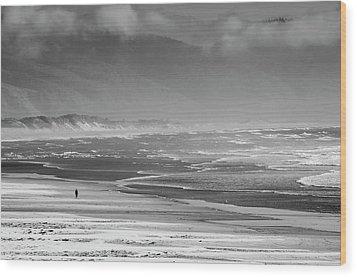 Stormy Oceanside Oregon Wood Print by Amyn Nasser
