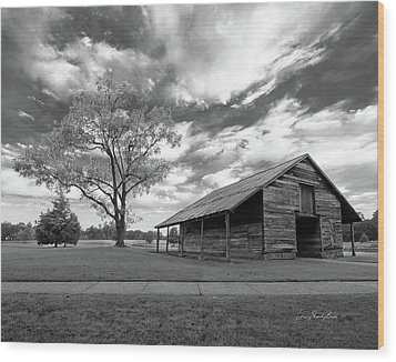 Wood Print featuring the photograph Stormy Weather by George Randy Bass