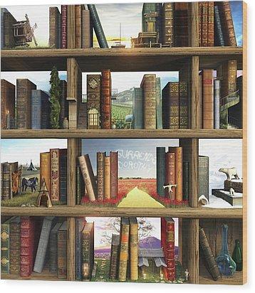 Storyworld Wood Print