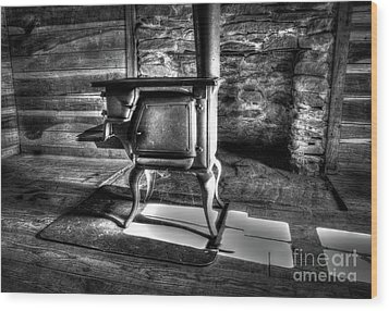 Wood Print featuring the photograph Stove by Douglas Stucky