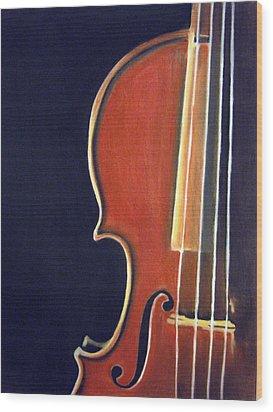 Stradivarius Wood Print