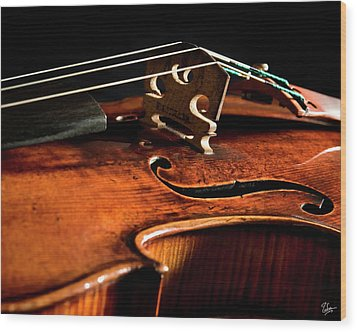Stradivarius Wood Print