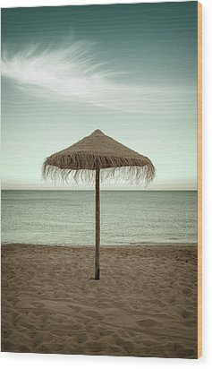 Wood Print featuring the photograph Straw Shader by Carlos Caetano