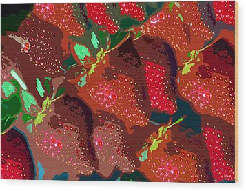 Strawberry Fields Forever Wood Print by David Lee Thompson